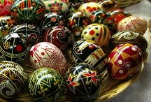 Pysanky (and other eggs) / fancy eggs / by Mary Puskar