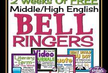 Middle School / Teaching ela