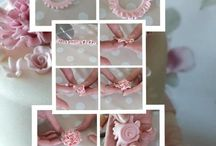 fondant flower tutorials