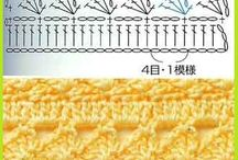 Crochet- Stich diagramms