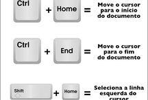 dicas do teclado
