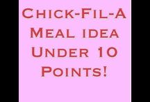 Fast Food Meal Ideas on Weight Watchers Points Plus! / by Weight Watcher Girl