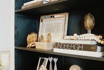 Bookcases aren't just for books / by Rachel Saldana