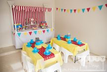 Circus Party Package / Come one come all to the greatest party in town. Want to celebrate in style and  transform your house or party venue into a big top circus tent? Have the best kids birthday party around.  Let Party by Design's Auckland team help with our themed children's party packages and dessert tables.  Visit www.partybydesign.co.nz