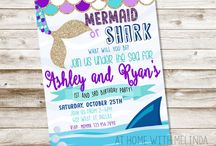Mermaid & Shark party
