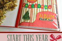 Christmas Scrapbooking album