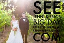 Featured Real Wedding: Jenni & Eric {Real Weddings Magazine} / Jenni & Eric's wedding appears on the Real Weddings Magazine Blog. Photos courtesy of and copyright Amy Nicole Photography, Flowers by Natural Flair Custom Floral Designs, Veil, Garter and Maid of Honor's dress from Sparkle Bridal Couture. See more at - http://www.realweddingsmag.com/real-weddings-wednesday-presenting-jenni-eric/