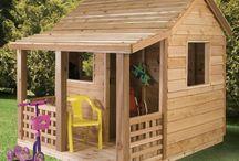Cabanes pour les enfants