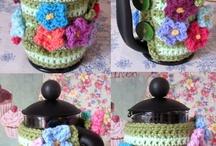 Crochet Coffee Plunger Cosies