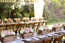 Rustic Wedding Stuff we love! / All sorts of fab ideas for a rustic wedding.