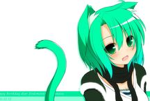 Anime Mädchen katzenohren