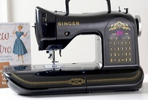 Crazy About My New SINGER 160 ANNIVERSARY LIMITED EDITION Sewing Machine.... / by Venita Henderson