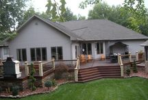 Backyard | Pool, Gazebo, Deck and more / Decorate and adapt your backyard for mobility and function. And beauty of course!