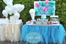 Decoraciones de eventos DIY creaTeva / Decoración candy bar para comuniones