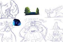 Ori Stuff, Doodles / Oriandtheblindforest
