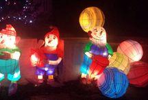 Lanternes Metz 2014 / Sentier des lanternes à metz, un chemin poétique et féérique à parcourir pendant les fêtes de Noël