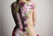 Bodypaint Photoshoot / Foto's van Manuela na een prachtige Bodypaint