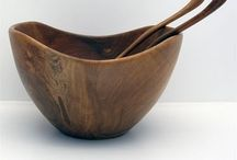 vessels / bowls. ceramic. wooden. artistic.