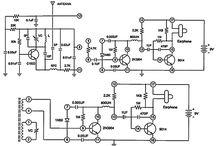 elektronika , kapcsolási rajz