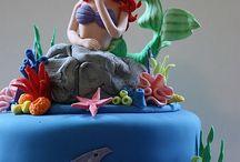 Αriel cakes