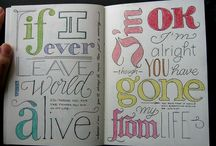 typography / by Venus Perez
