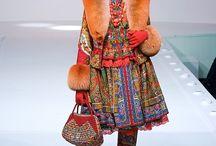 русский стиль в современной одежде