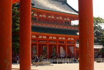 Heian jingu Shrine, Kyoto! / Two Emperors of Japan, one the founder of and the other the last ruler of the Heian Capital, have come to be deified at Heian Shrine. Today, it does not only figure as a tourist attraction for foreign visitors but also serves as the spiritual centre of the nation as a whole, as well as of the patriotic citizens of Kyoto.