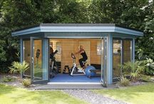 Home gym ideas / Garden gyms