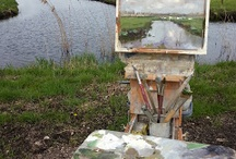 The Art of Plein Air / Joy of doing art outdoors