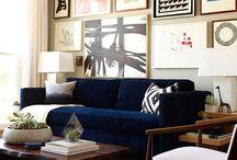 living room / by Amanda Shaffner