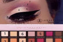 makeup pallette tutorials