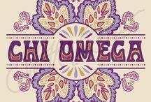 chi omega / by Courtney LeBlanc