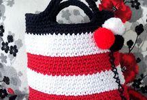 Torby, koszyki / Crochet bags and baskets