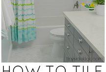 Bathroom / Bathroom floor plans and DIY projects