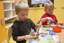 Zajęcia w przedszkolu / W naszej placówce jest wiele interesujących zajęć.