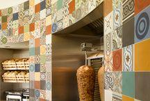 syrian restaurant interior