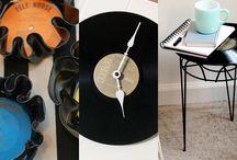 Altered Vinyl Records