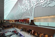 Architectural inspiration / Facade design & interiors in large work