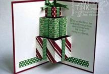 cartes  et décos de Noël en papier