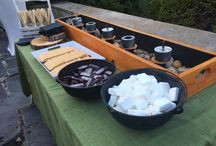 NBG Smores Bar / Contact your NBG coordinator and ask about renting this smores bar for your wedding or event!