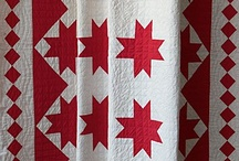 Red &White Quilts