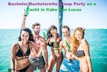 Bachelorette Party Yacht Cabo San Lucas