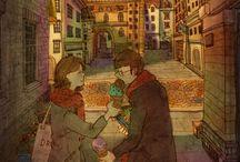 O amor está nos pequenos detalhes by Puuung