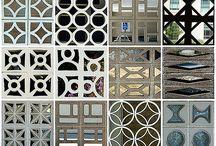 Perforated block