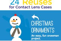 Contact Lens Case Crafts