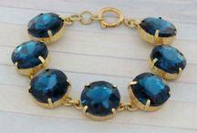 Designer Inspired Jewelry / Popular Designer Inspired Jewelry #designer inspired #preppy #crystalbracelet