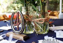 horse shoe table decorations