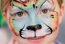 balloon animals and face painting