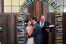 A Book Lover's Wedding / We have a wedding board and it's styling with book-inspired decors and ideas for your big day! Also, check out some cool literature-inspired weddings!