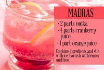 Vodka cocktails
